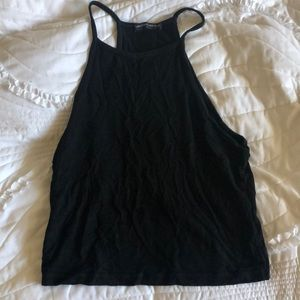 Black Brandy Melville Halter top